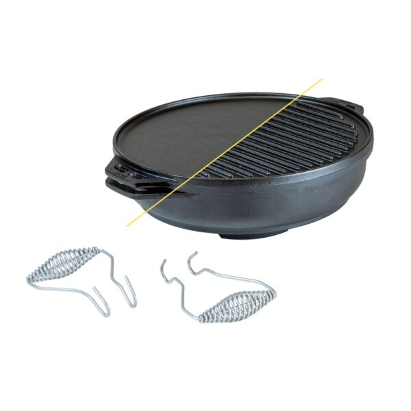 Lodge 14 Inch Cast Iron Cook-It-All 1