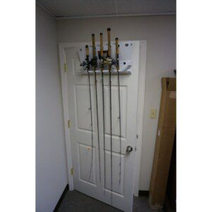 Viking Solutions Door Frame Fishing Rod Rack